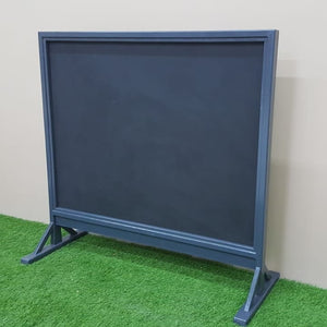 Outdoor chalkboard
