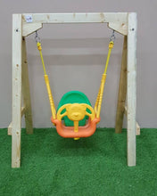 Wooden Baby/ Toddler Swing Set