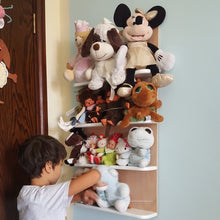 Teddy bear wall storage