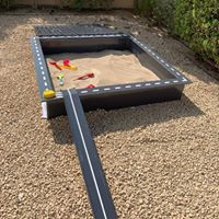 Sandpit add on: Ramp