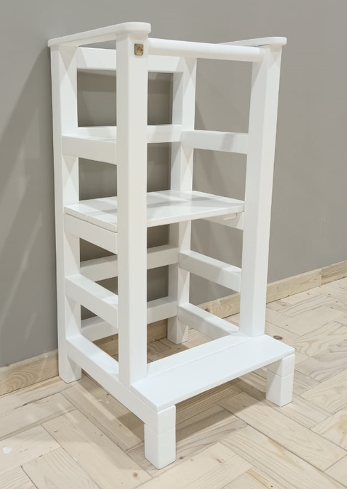 Grow with me sit - stand learning tower (with a fixed bar)