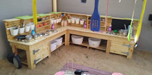 The Duck Family Mud Kitchen