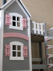 Dollhouse Bunk Bed