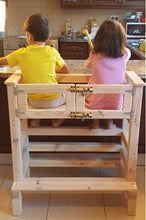 Twin/ Double grow with me sit or stand learning tower