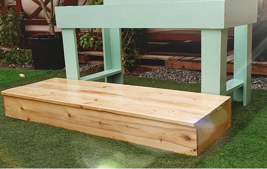 Mud Kitchen Double Step Add On