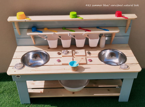 READY FOR DELIVERY - Swan Mud Kitchen RAL 7033