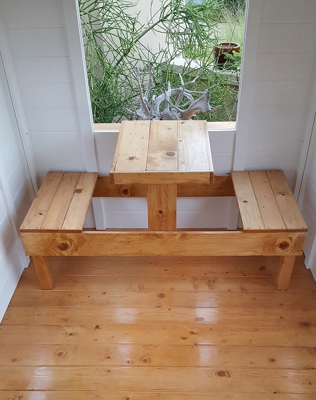 Pinic bench for 2