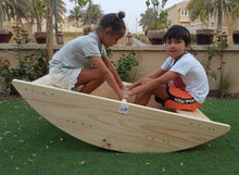 Rocking boat for 2-4 kids