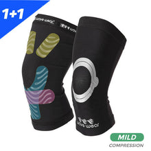 Load image into Gallery viewer, Knee Sleeves K1 Pair (Mild Compression)