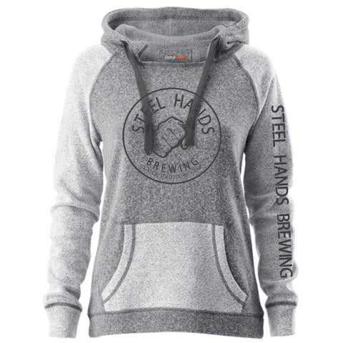Women's Hoodie - Pepper/Charcoal