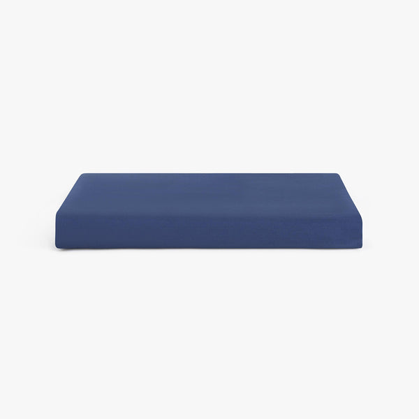 Marso Living Bettlaken Navy Satin www.marsoliving.com