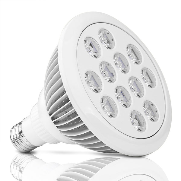 12W LED Grow Light Bulb