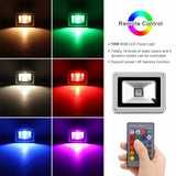 Outdoor RGB LED Flood Light