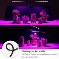 Three Heads Timing LED Plant Grow Light