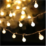 Outdoor LED Ball String Lights