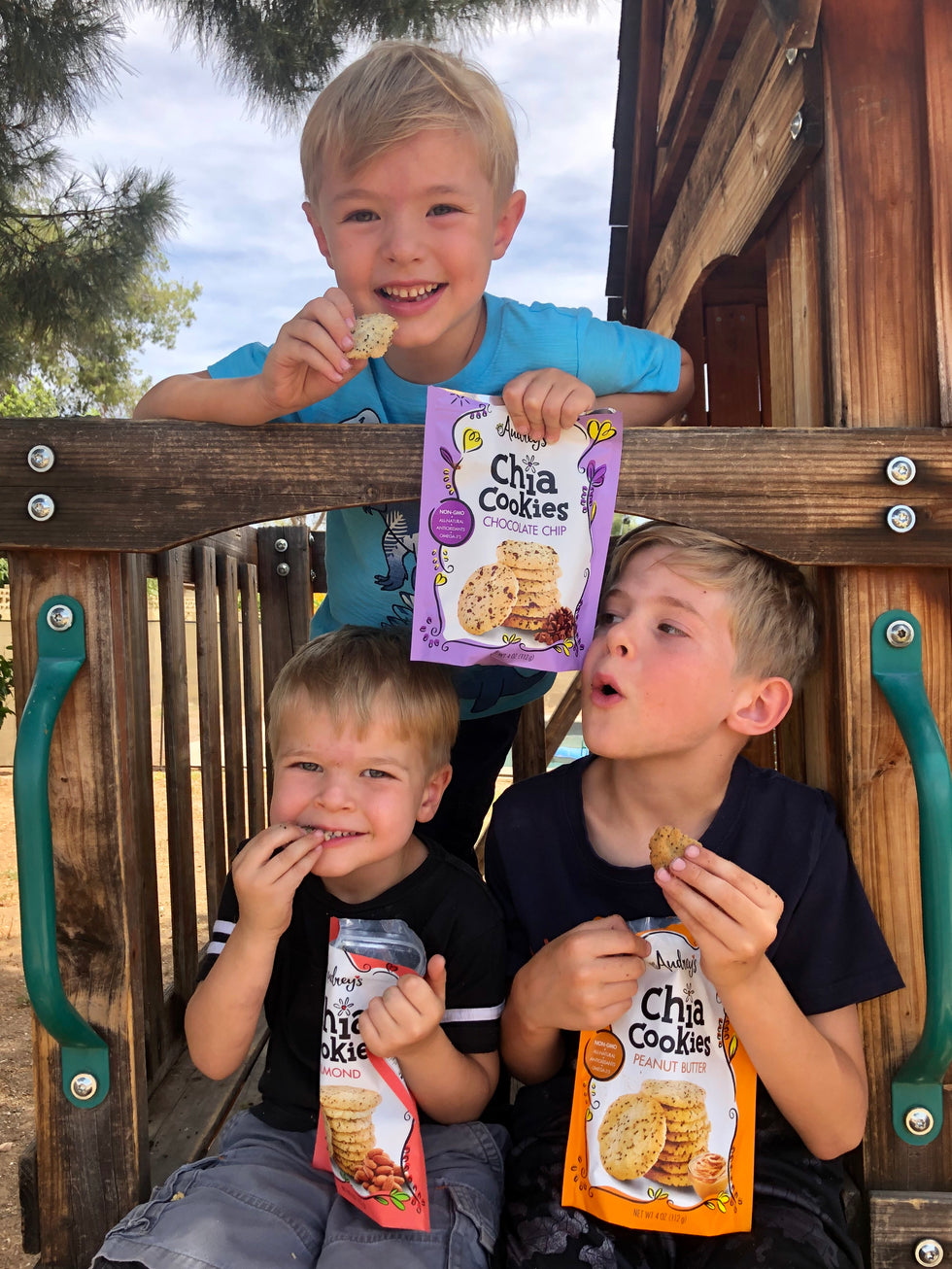 Audrey's Chia Cookies Keep Kids Fueled