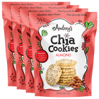 Audrey Chia Cookies Almond 4-pack