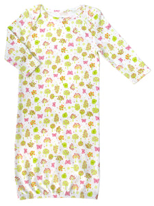 Long Sleeve Insect Screen Sleep Gown