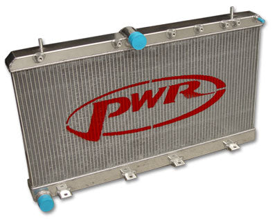 PWR SUBARU WRX IMPREZA MY01-04 - 42MM WATER RADIATOR - PWR0876