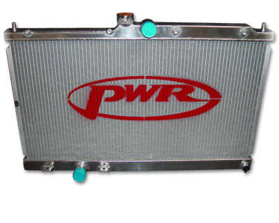 PWR MITSUBISHI EVO 7 / EVO 8 - 42MM WATER RADIATOR