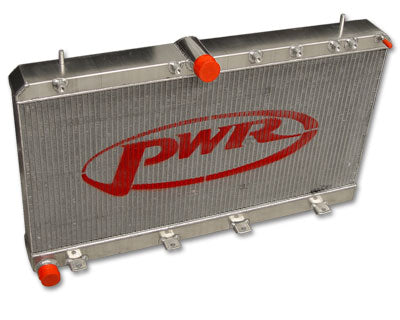 PWR SUBARU WRX IMPREZA MY01-02 - 55MM WATER RADIATOR - PWR1664