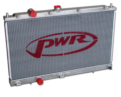 PWR MITSUBISHI EVO 5 / EVO 6 42MM WATER RADIATOR