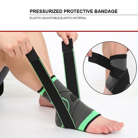 ankle support pressurized