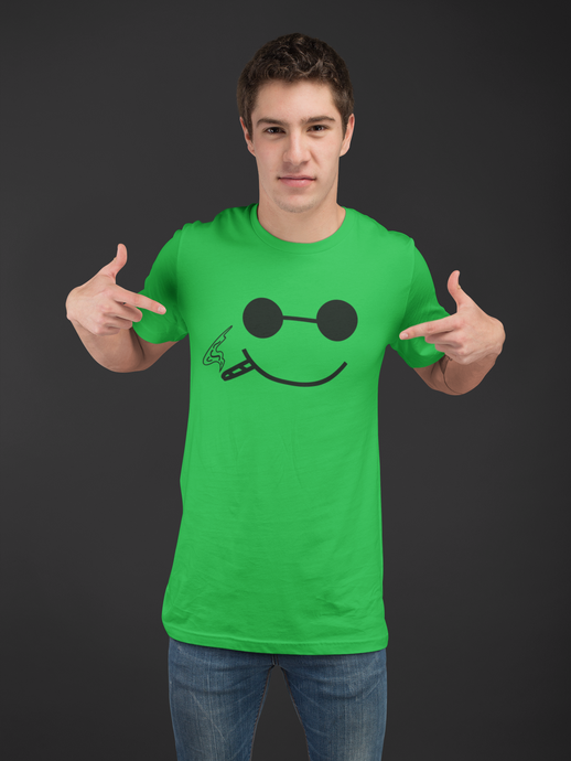 Smiley Kelly Green T-shirt