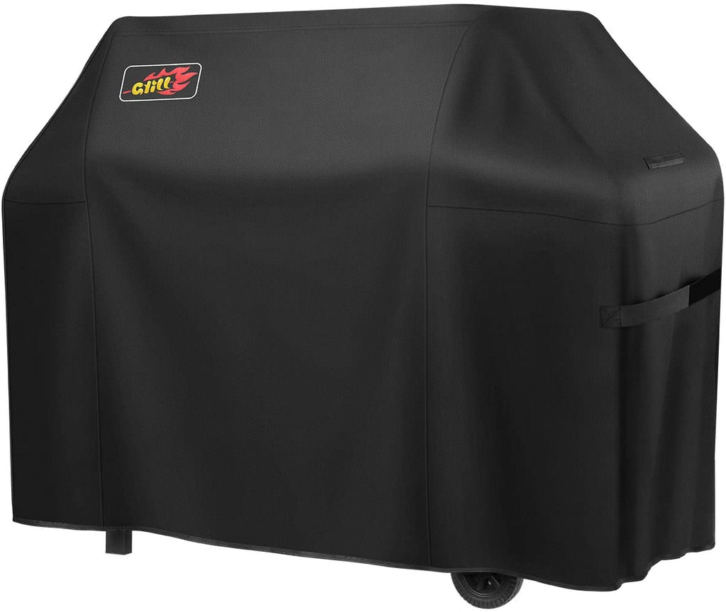 VicTsing Gas Grill Cover, 72-inch 600D Heavy Duty Waterproof BBQ Cover for Weber, Holland, Jenn Air, Brinkmann and Char Broil, Fade Resistant & Rip Resistant & Sun Resistant