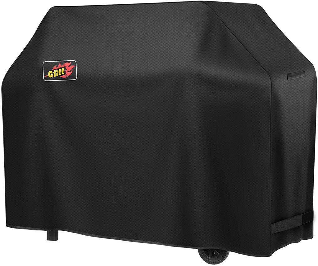 Victsing 58 Inch BBQ Cover, 600d Heavy Duty Grill Cover Thicken Waterproof Barbecue Covers for Weber  Char-Broil Etc (Fade Sun & Rip-Resistant)