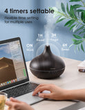 VicTsing 500ml Essential Oil Diffuser with Oils, Aromatherapy Diffuser with Essential Oil Set, Diffusers for Essential Oils with Auto Shut-Off, 4 Timer, Gift Set for Home