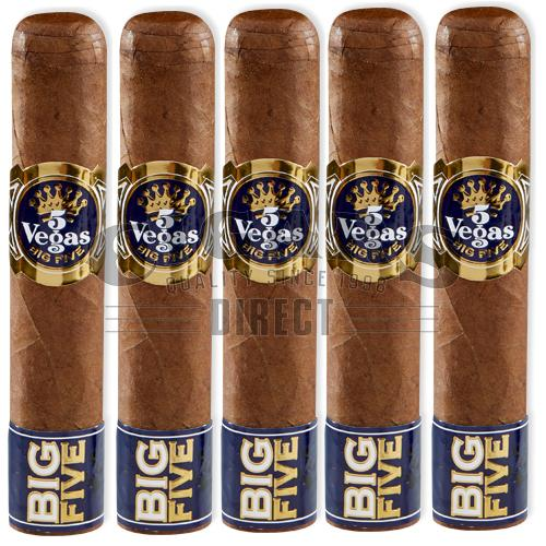 Load image into Gallery viewer, 5 Vegas Big Five Robusto 5 Pack
