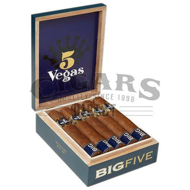5 Vegas Big Five Robusto Open Box