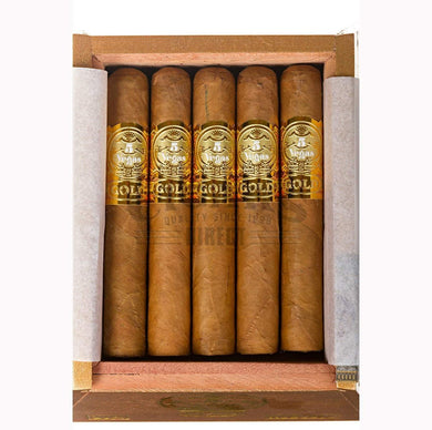 5 Vegas Gold Robusto Box Open