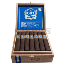 Load image into Gallery viewer, 601 Blue Label Maduro Prominente Open Box