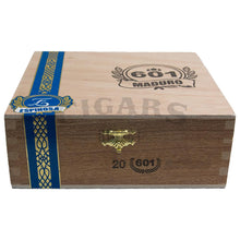Load image into Gallery viewer, 601 Blue Label Maduro Toro Box Closed