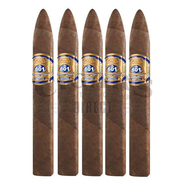 Load image into Gallery viewer, 601 Blue Label Maduro Torpedo 5 Pack