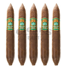 Load image into Gallery viewer, 601 Green Label Oscuro La Punta 5 Pack