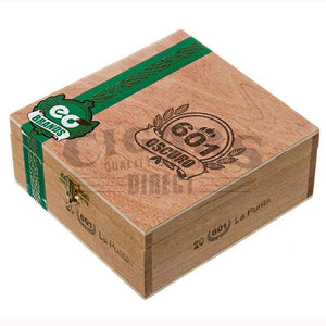 601 Green Label Oscuro La Punta Box Closed