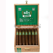 Load image into Gallery viewer, 601 Green Label Oscuro La Punta Box Open