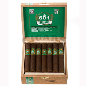 601 Green Label Oscuro Trabuco Open Box