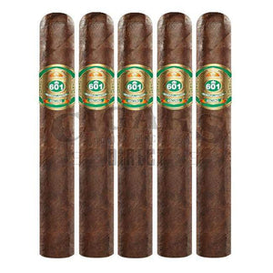 601 Green Label Oscuro Trabuco Robusto 5 Pack