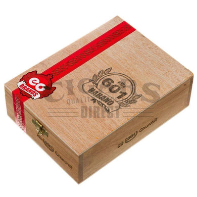 601 Red Label Habano Churchill Box Closed