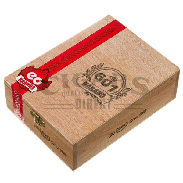 Load image into Gallery viewer, 601 Red Label Habano Churchill Box Closed