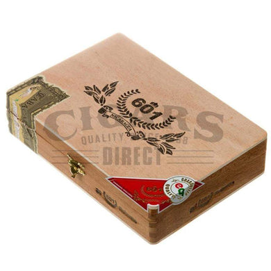 601 Red Label Habano Robusto Box Closed