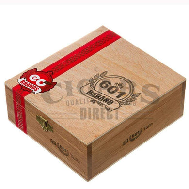 601 Red Label Habano Toro Box Closed