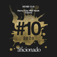Load image into Gallery viewer, Henry Clay War Hawk Corona Rated #10 Cigar of the Year