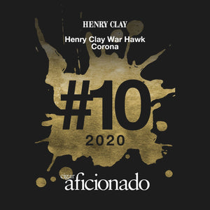 Henry Clay War Hawk Corona Rated #10 Cigar of the Year