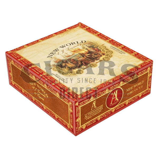 Load image into Gallery viewer, AJ Fernandez New World Oscuro Toro Closed Box