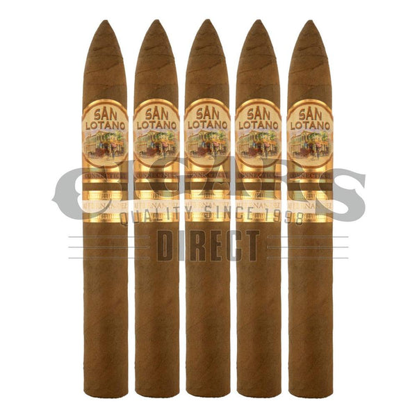 Load image into Gallery viewer, AJ Fernandez San Lotano Requiem Connecticut Torpedo 5 Pack